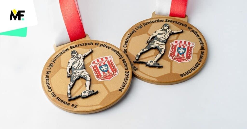 grawerowane medale piłka nożna