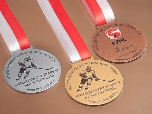 Grawerowane medale sportowe dladzieci