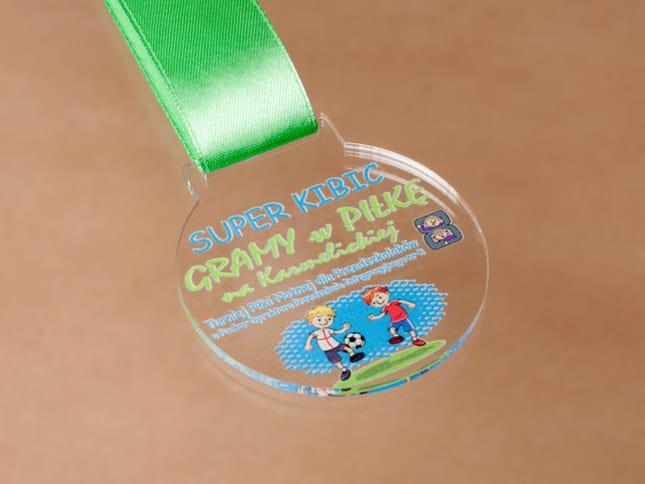 Oryginalne medale nazawody sporowe dzieci