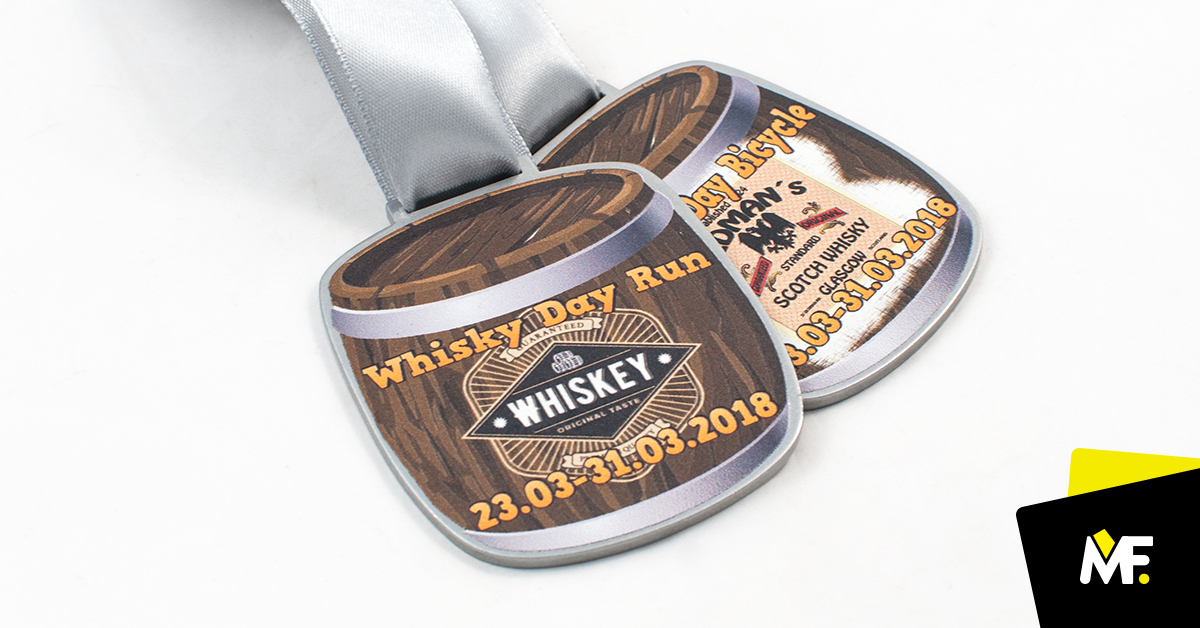 Medale Whisky Day Run 2018