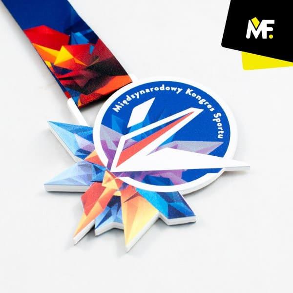 Medal sportowy Międzynarodowy Kongres Sportu